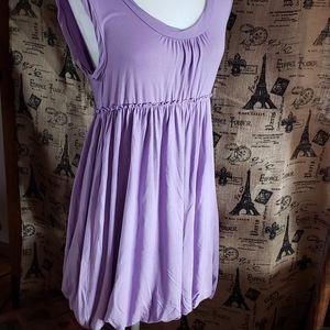Wilster lavender bubble dress
